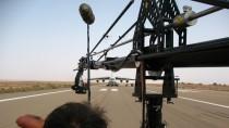 Mobile platform cranes